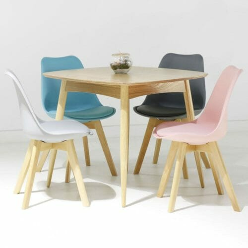 chaises scandinaves torens frene