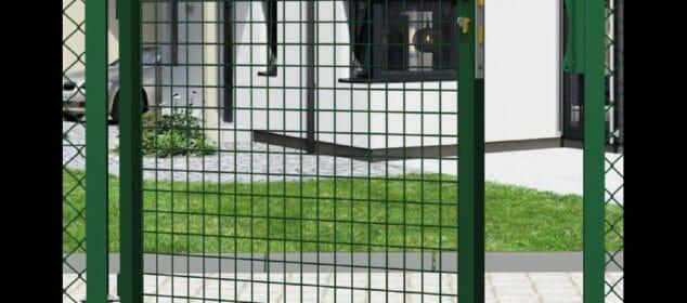 portillon-grillage-garden-vert