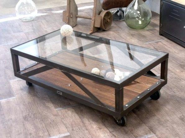 fabriquer sa table basse en verre