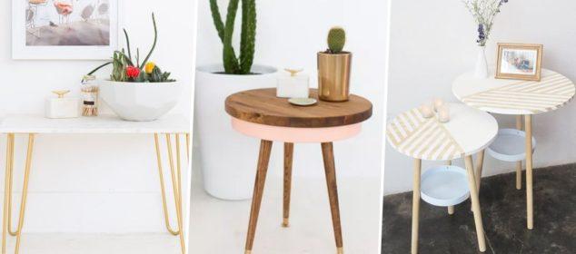 fabriquer sa table basse pied en bois