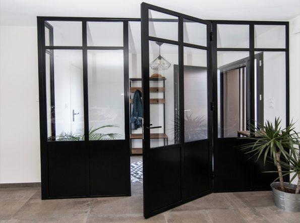 Porte de verrière simple