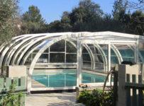 abri de piscine haut ÉLITE