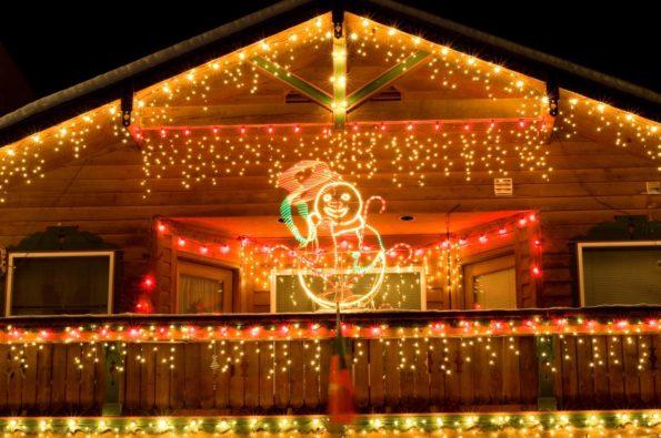 guirlande lumineuse extérieure choisir pour Noël
