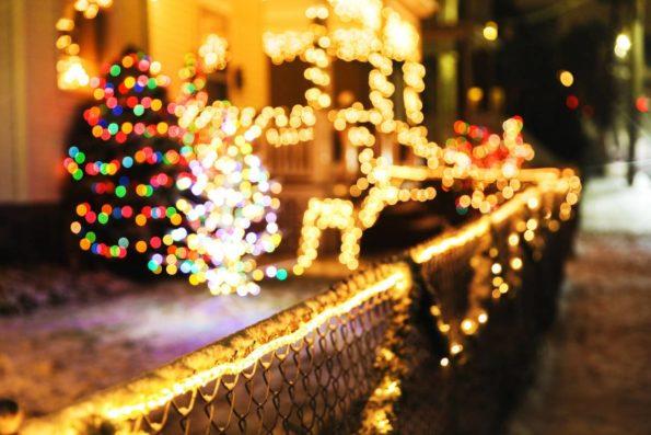 guirlande lumineuse extérieure Noel