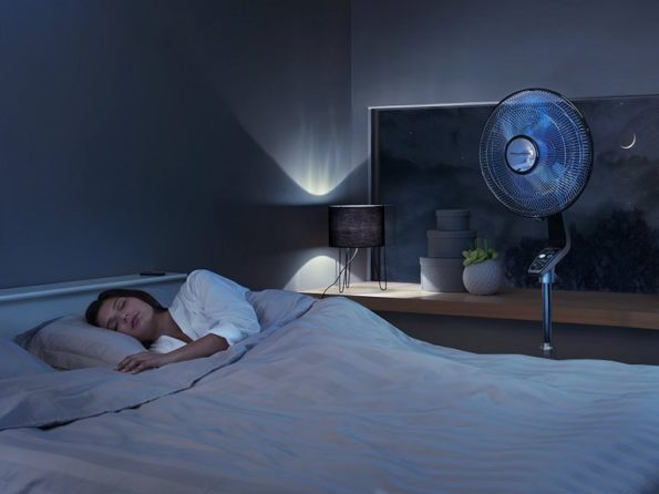 ventilateur silencieux pendant la nuit