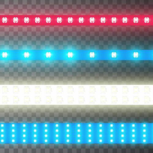 Créer des ambiances colorées avec des rubans LED RGB+W