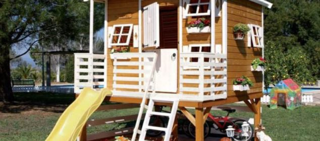 construire une cabane pour enfant