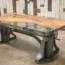 Déco d'intérieur : Table en résine epoxy bois