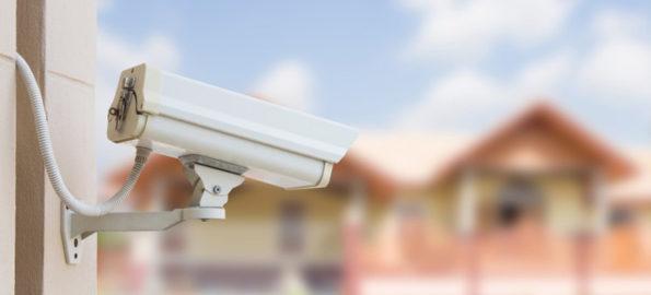 fausses caméras de surveillance