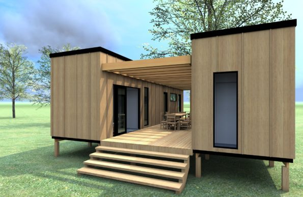 prix tiny house en container