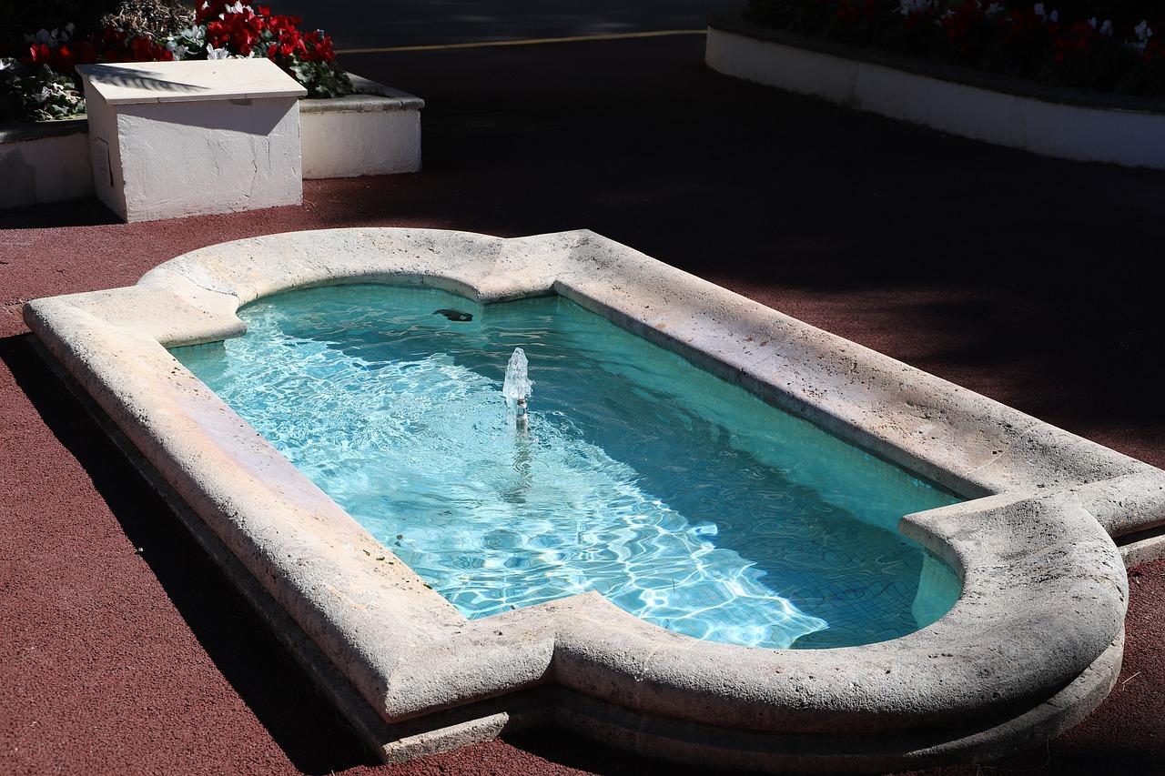 Petite piscine à la maison