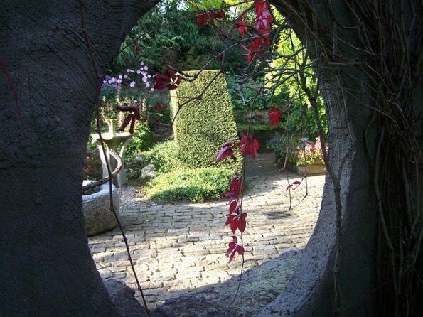 jardin secret entrée