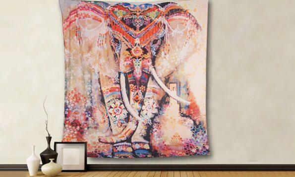 tissu mural décoratif