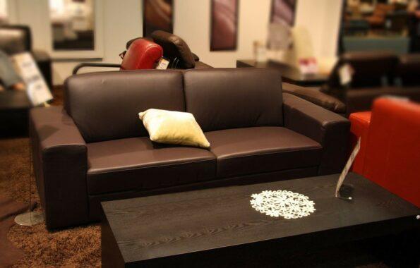 canapé cuir salon
