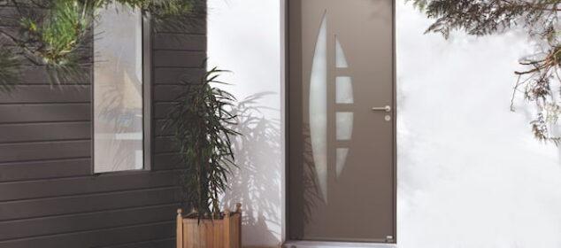 porte d'entrée design Apollo en aluminium